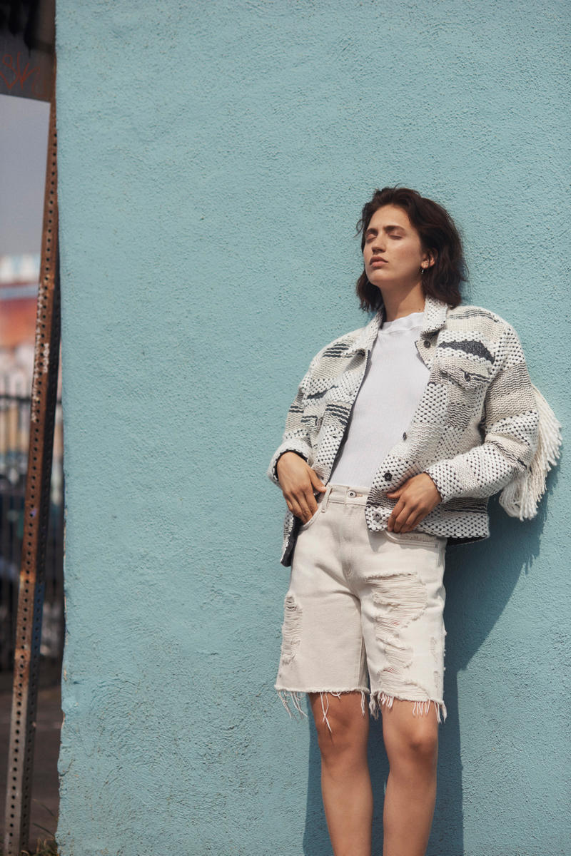 Levi's Made & Crafted Spring/Summer 2018 Collection Lookbook Denim Japanese Dying Technique Ocean California Inspired