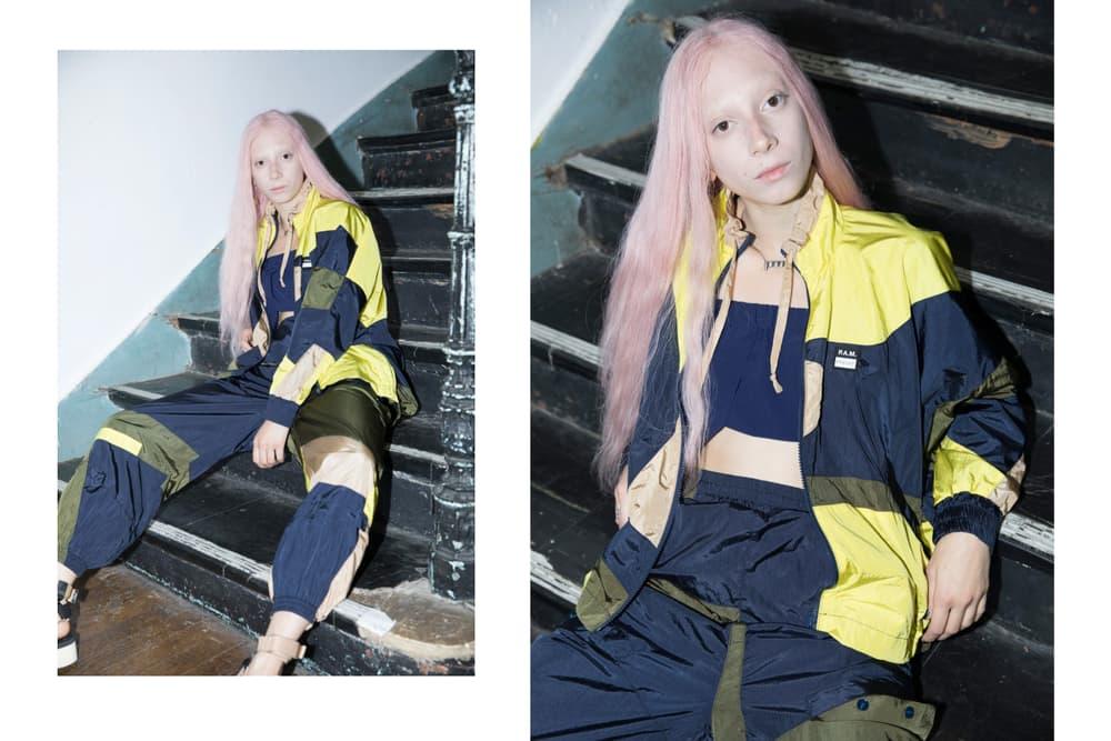 P.A.M Perks and Mini Spring/Summer 2018 Lookbook Planetary Movement Streetwear