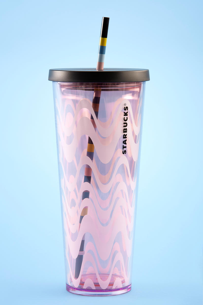 Starbucks Spring Products Drinks and Tumblers Macha Mocha Drink Chocolate Covered Almonds Coffee Pink Purple