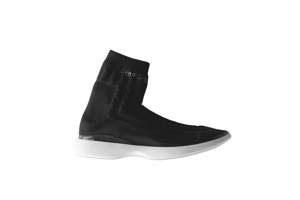 Acne Studios Spring/Summer 2018 Sneaker Arrivals Batilda Manhattan Chunky Sneaker Sock Silhouette