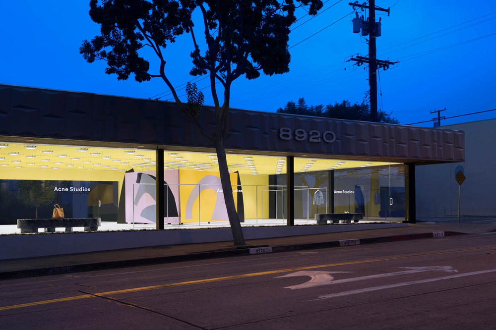 Acne Studios West Hollywood California Store