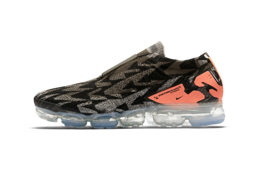 official photos cc628 bb912 ACRONYM x Nike Air VaporMax Moc 2 Air Max Day footwear release dates 2018  march Errolson