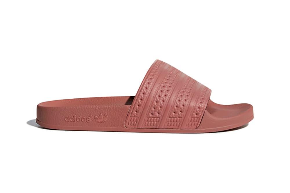 59006792abfc6 adidas Adilette Slides Ash Pearl Pink Dusky Dusty Pastel Women s Ladies  Girls Slip-on Sandal