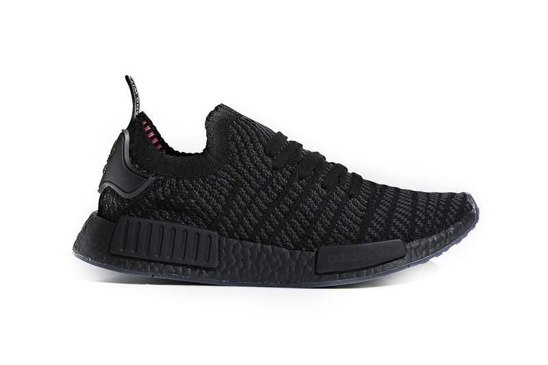 buy popular e5d3d 6466e adidas NMD R1 Primeknit STLT Triple Black