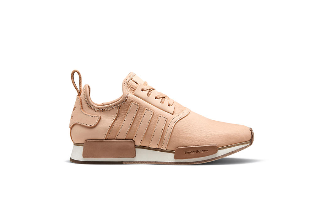 8a401d0e83d7a Hender Scheme x adidas Originals Collaboration Leather Sneakers Silhouettes NMD  Superstar