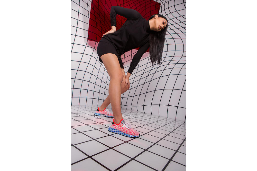 adidas Originals Deerupt Campaign Canadian Creatives tothe9s youtube cassie ricci