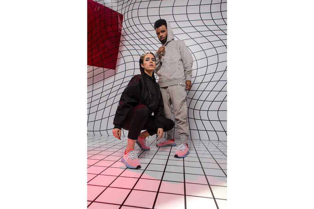 adidas Originals Deerupt Campaign Canadian Creatives kastor and pollux Vanessa Cesario