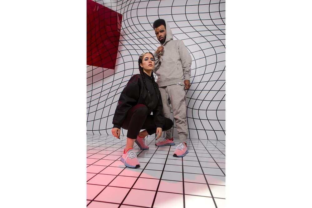 2ef6319a65e7a adidas Originals Deerupt Campaign Canadian Creatives kastor and pollux  Vanessa Cesario