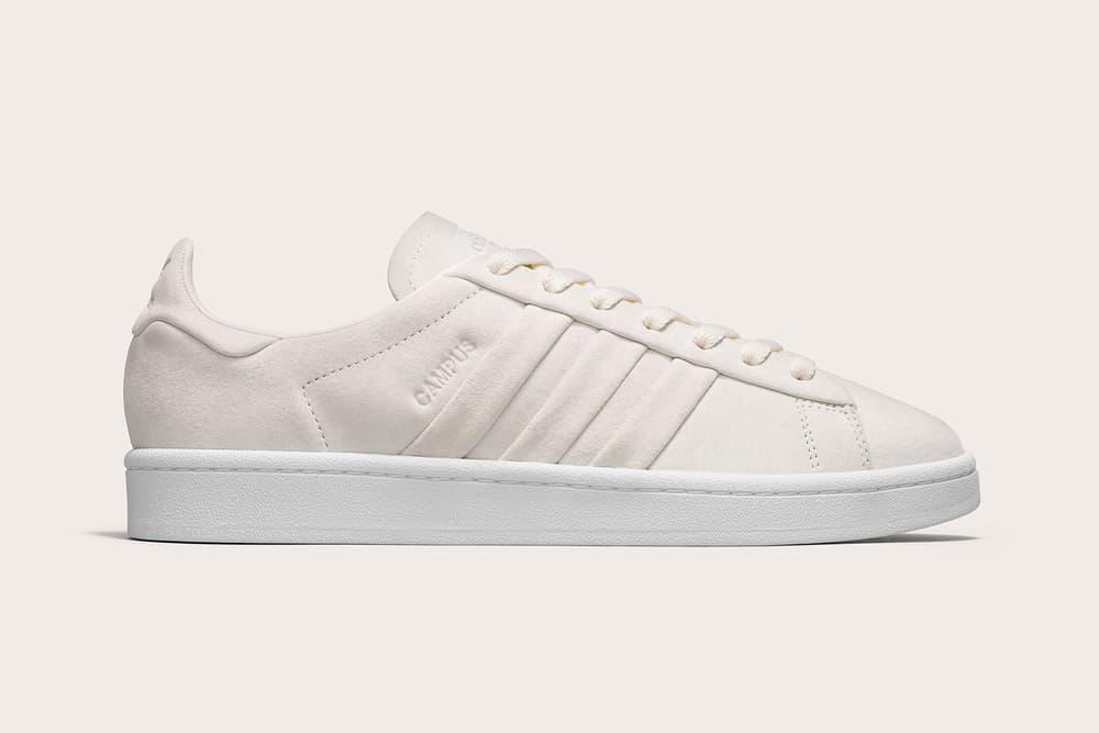 adidas originals stitch and turn campus gazelle beige minimalist sneaker
