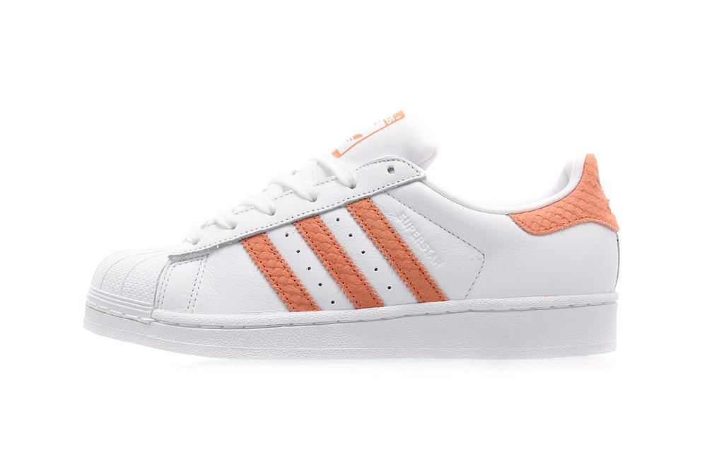 adidas Originals Superstar 80s Coral White