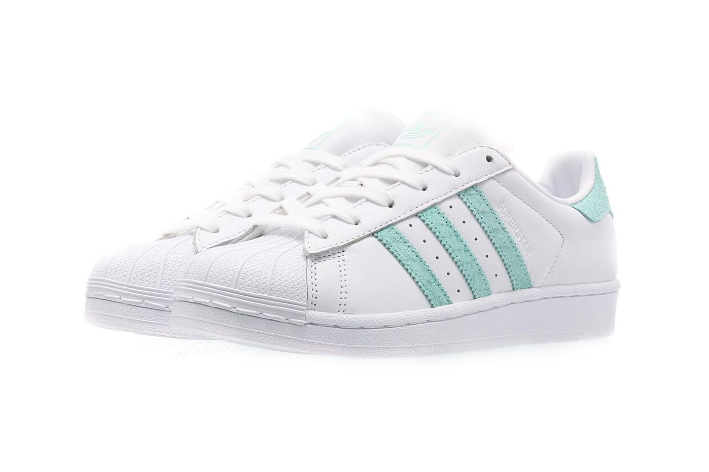 mint green adidas