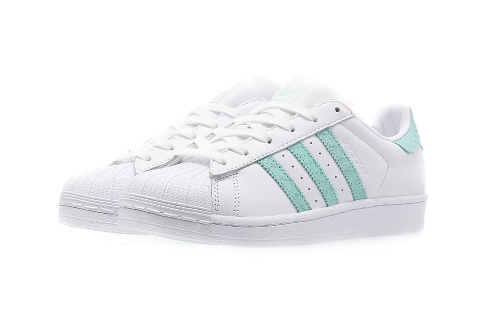 adidas Originals Superstar 80s Mint Green White