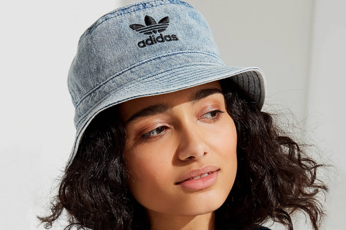 8a9f38f18 adidas Originals  Denim Bucket Hats and Visors Are Must-Haves for Spring