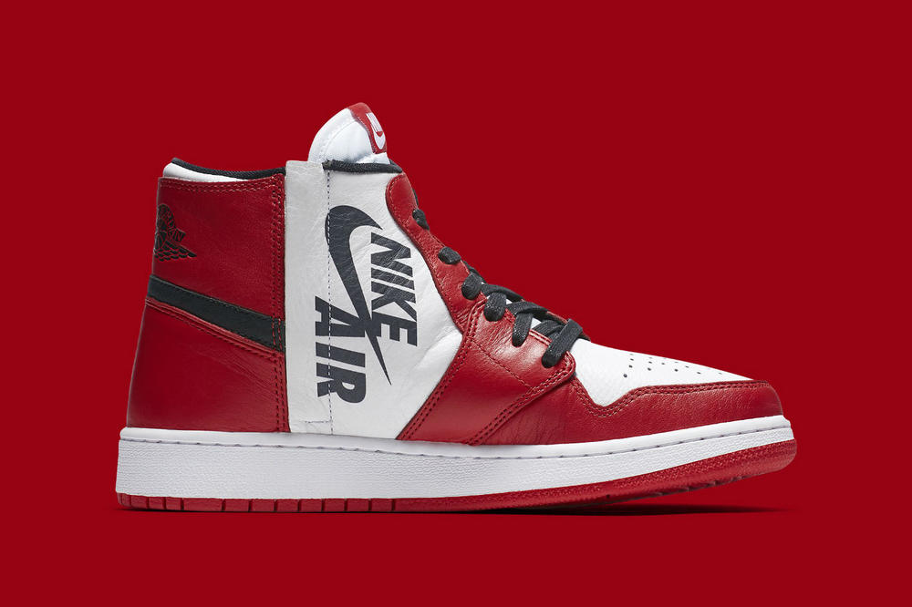 Nike Air Jordan 1 REBEL Reimagined Chicago Red Black White
