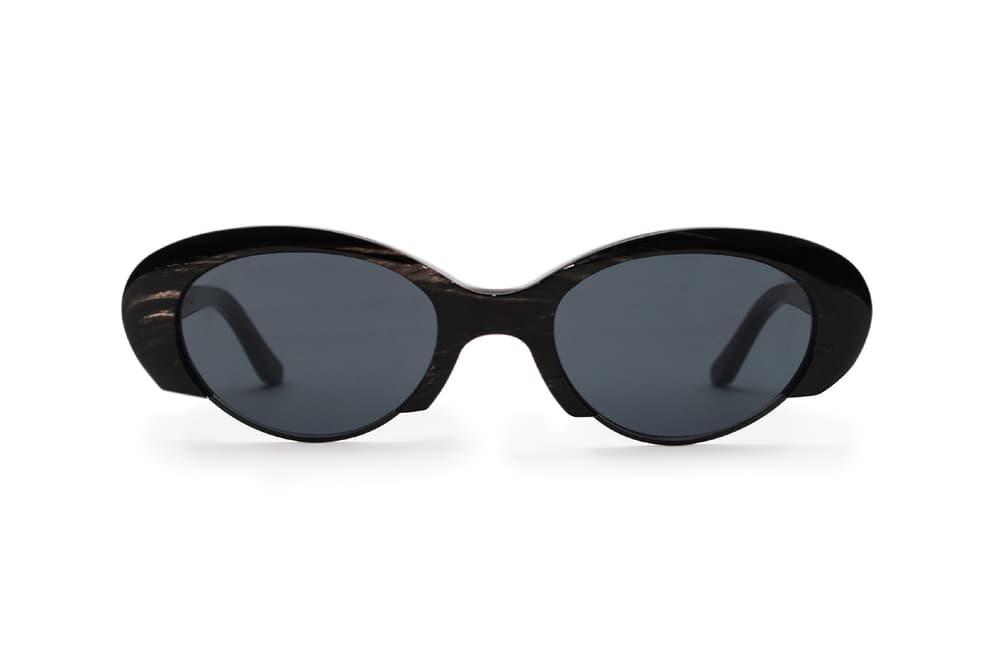 Alex Eagle x BLYSZAK Buffalo Horn Sunglasses Cat Eye Mens Women's Unisex Studio London The Store Where To Buy Designer Shades