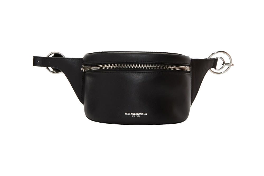 Alexander Wang Ace Fanny Pack Leather Black