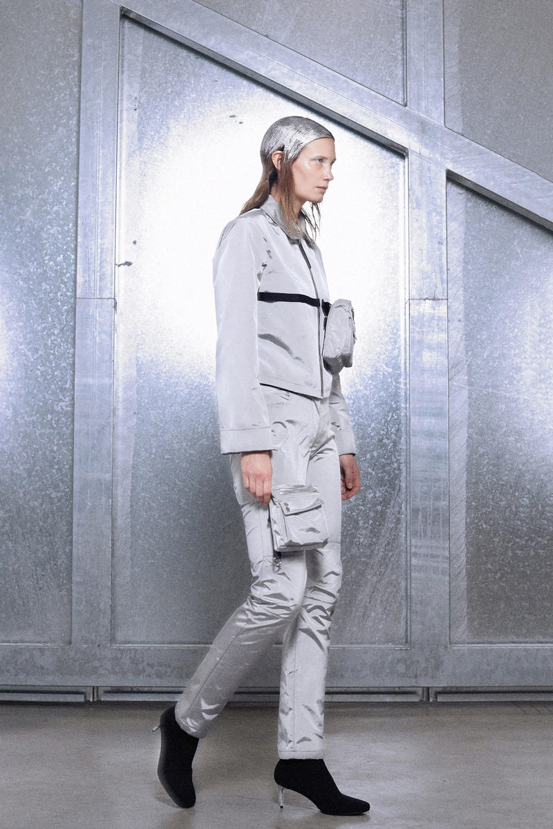 ALYX Fall 2018 Collection Tracksuit Silver