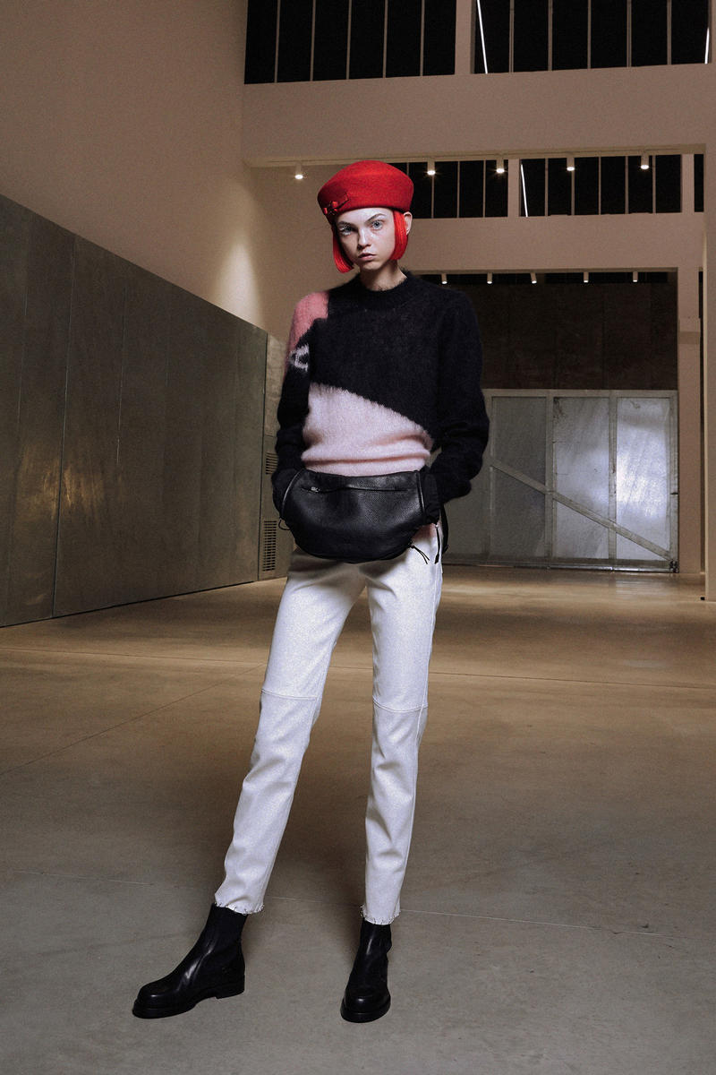 ALYX Fall 2018 Collection Sweater Pants Black White