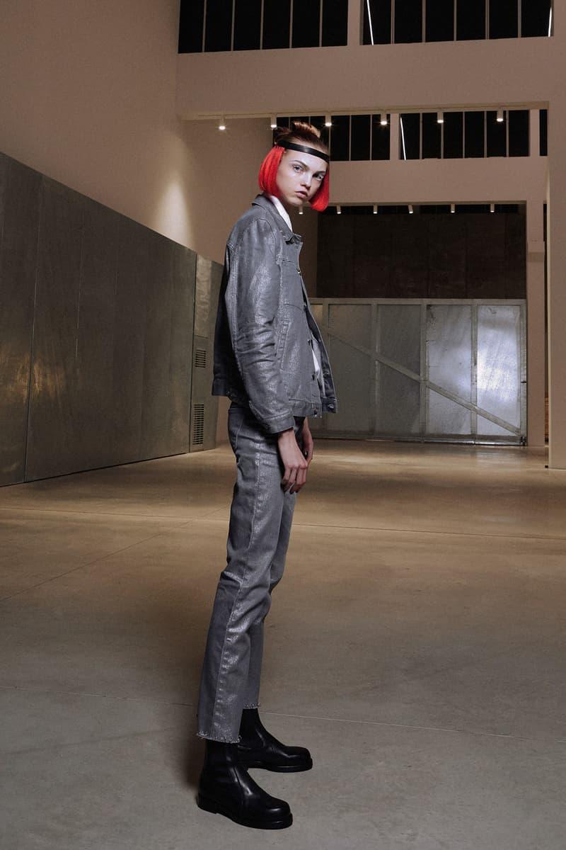 ALYX Fall 2018 Collection Denim Jacket Pants Grey