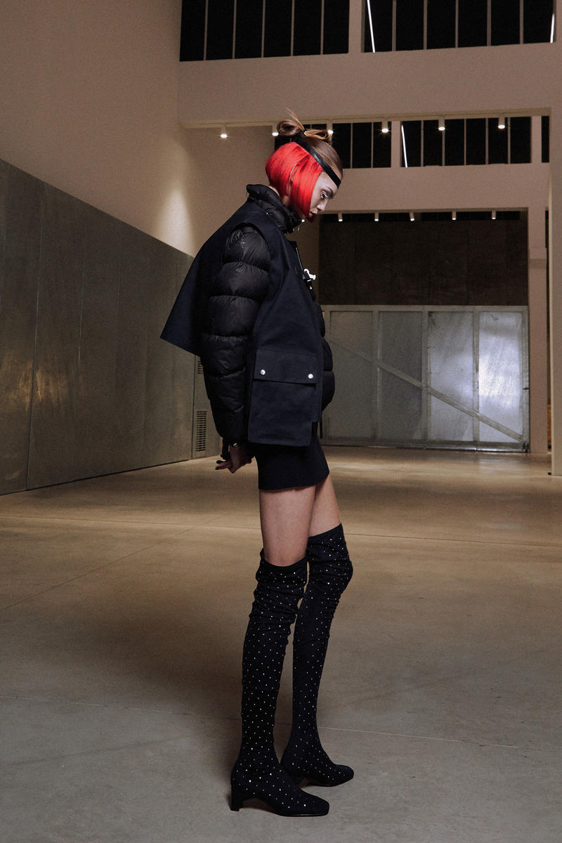 ALYX Fall 2018 Collection Vest Puffer Jacket Boots Black