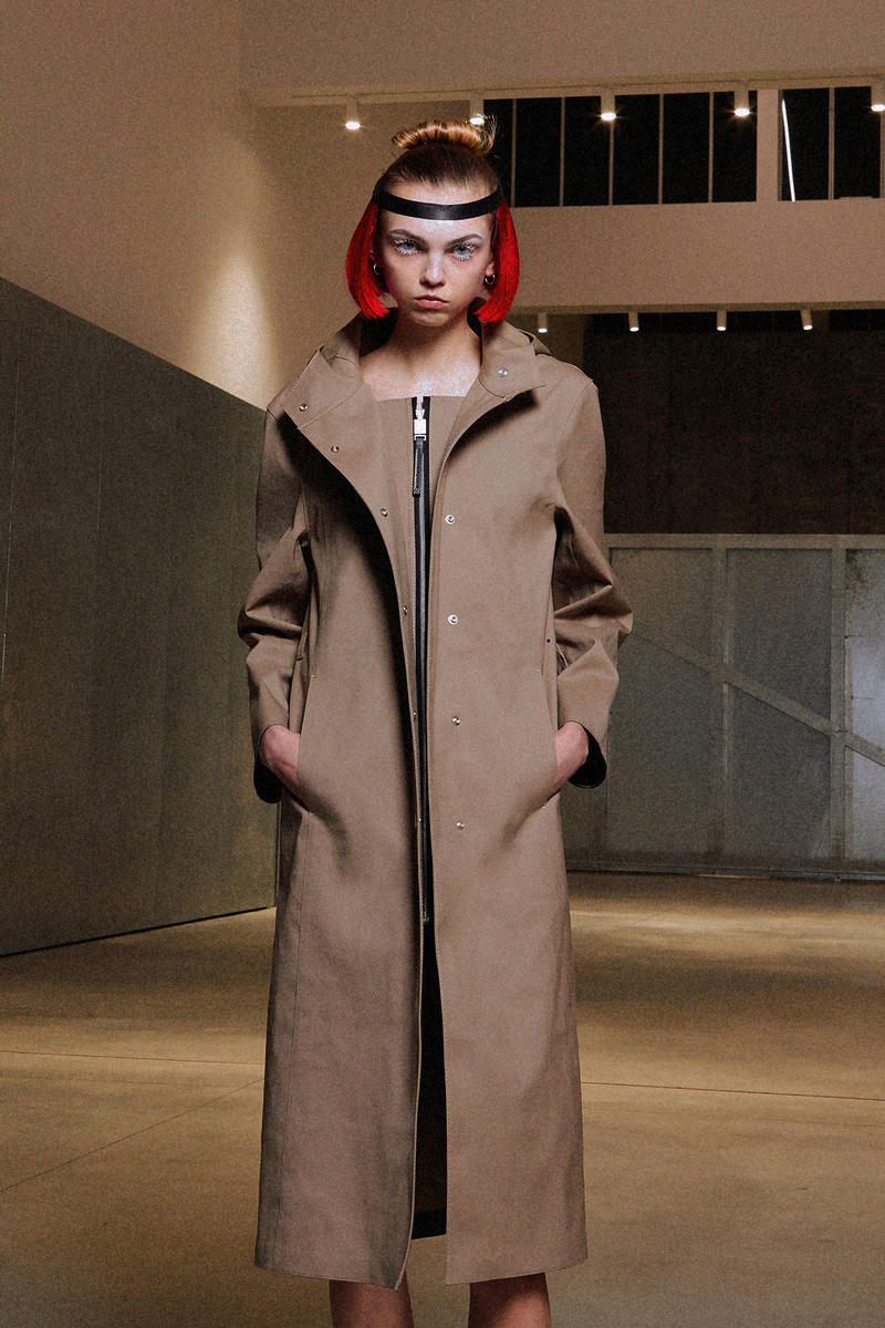 ALYX Fall 2018 Collection Jacket Camel Brown