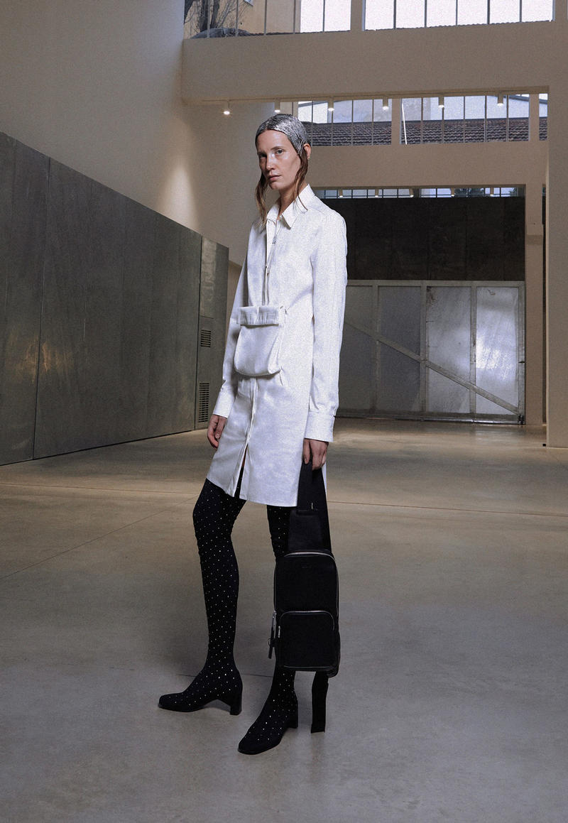ALYX Fall 2018 Collection Jacket Trouser White Black