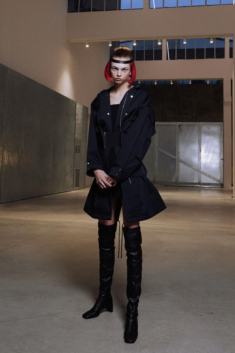 ALYX Fall 2018 Collection Jacket Boots Black