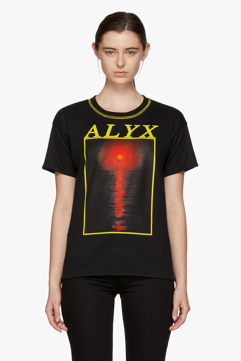 ALYX Studios Spring Arrivals Matthew Williams T-Shirt Hoodie Print Streetwear Staple Graphics SSENSE