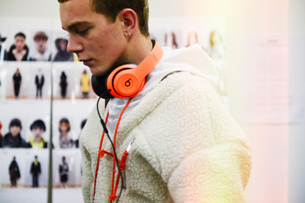 backstage behind the scenes tokyo fashion week bts amazon beats by dre yoon verbal
