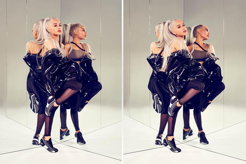 Ariana Grande Reebok Fusion Flexweave Black