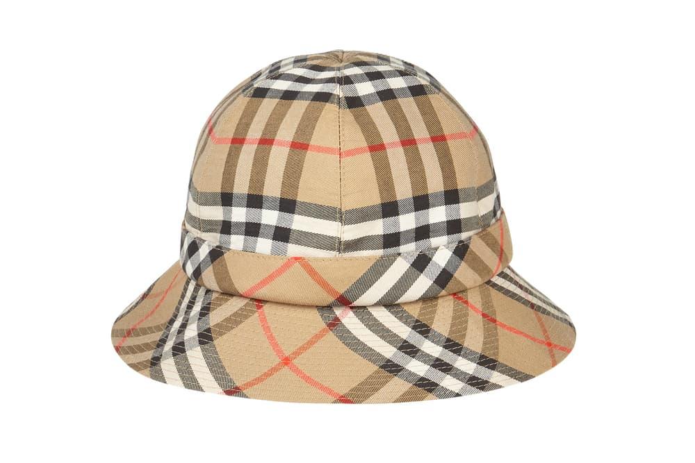 Burberry Vintage Bucket Hat Nova Check Pattern Asos Marketplace