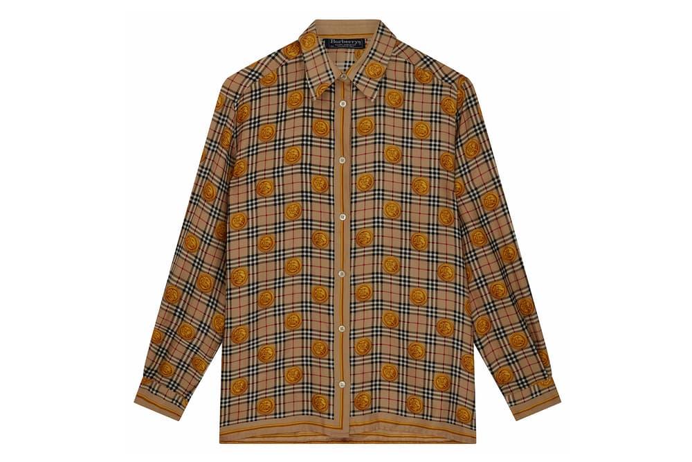 Burberry Vintage Button Up Shirt Patterned Nova Check