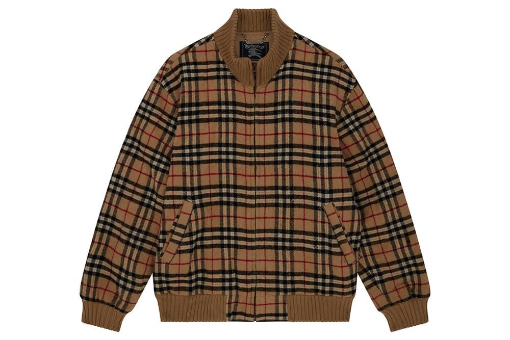 Burberry Vintage Nova Check Pattern Jacket
