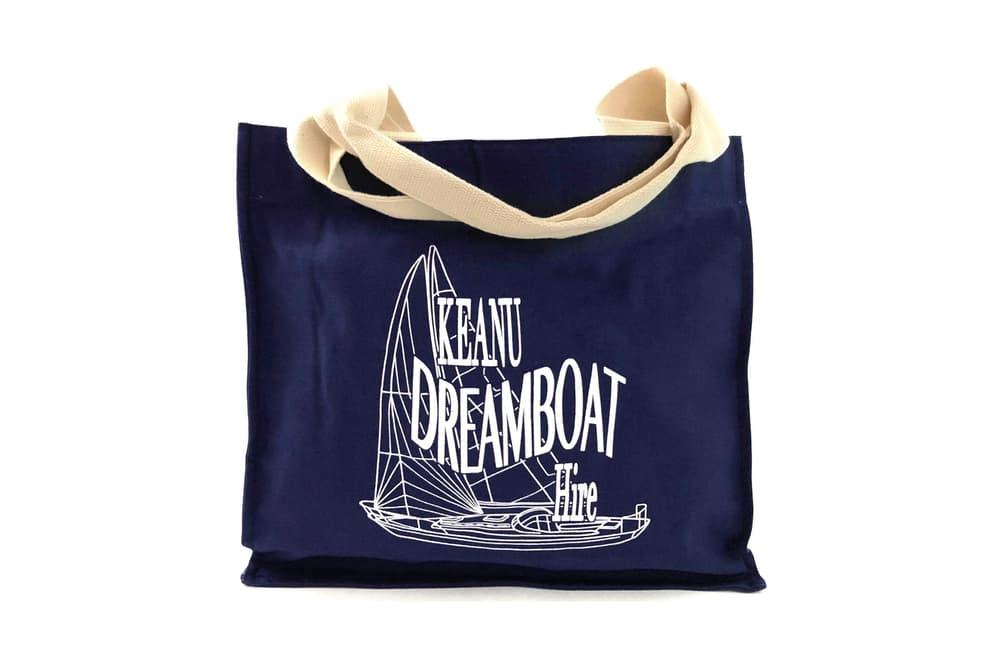 ava nirui avanope idea my keanu reeves fanzine merch avanope dreamboat tote bag