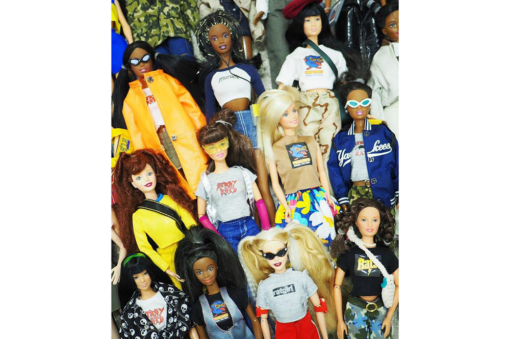 Ava Nirui x Stray Rats Barbies Custom Streetwear