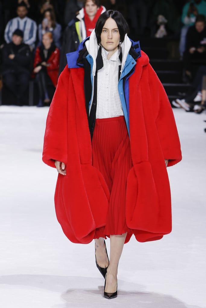 balenciaga fashion week