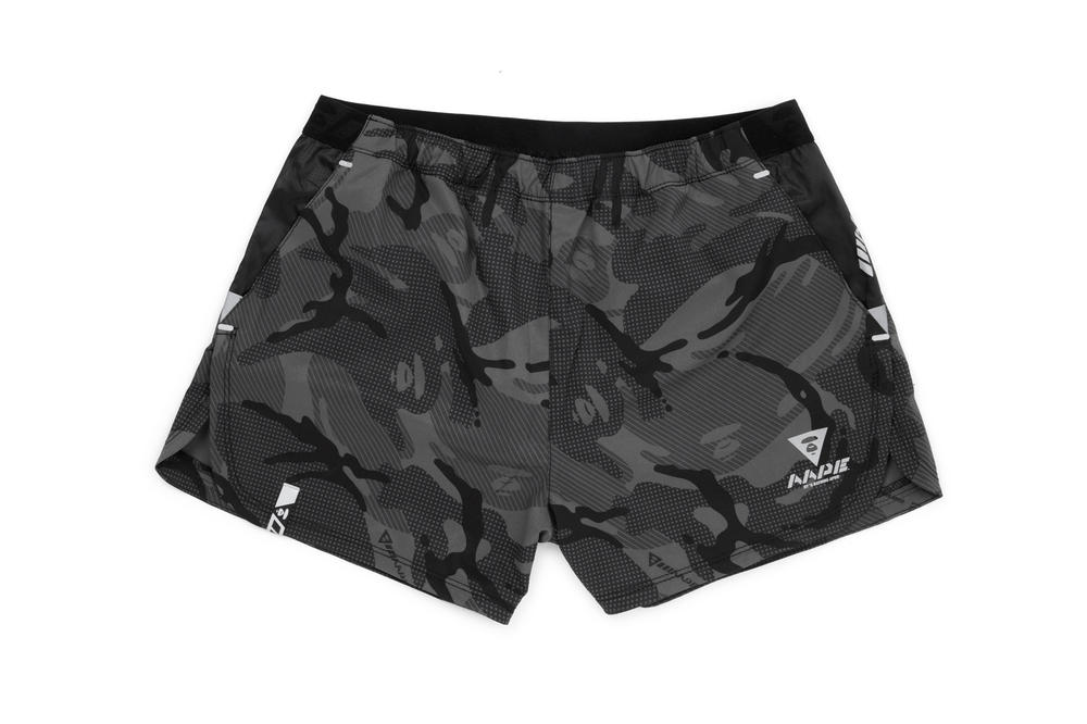 AAPE by A Bathing Ape AAPE+ Women's Athleisure Line Shorts Grey Camo