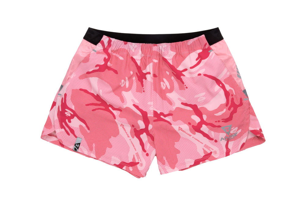 AAPE by A Bathing Ape AAPE+ Women's Athleisure Line Shorts Pink Camo