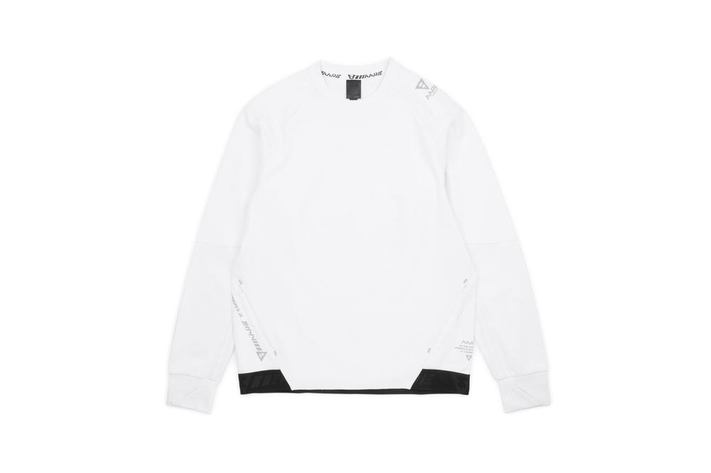 AAPE by A Bathing Ape AAPE+ Women's Athleisure Line Longsleeved Shirt White
