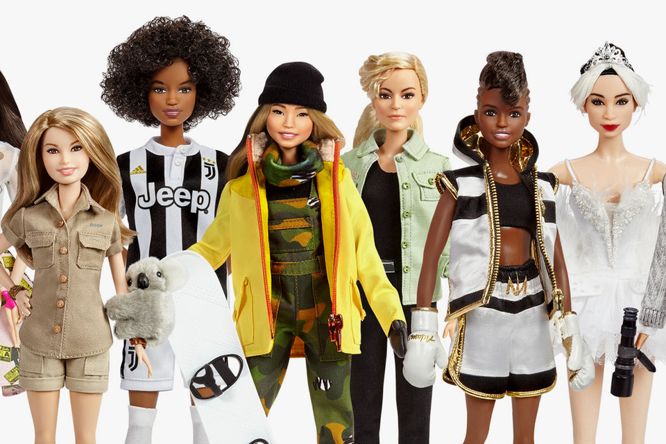 6121d0e17ba59 Barbie Unveils Chloe Kim and Bindi Irwin Dolls