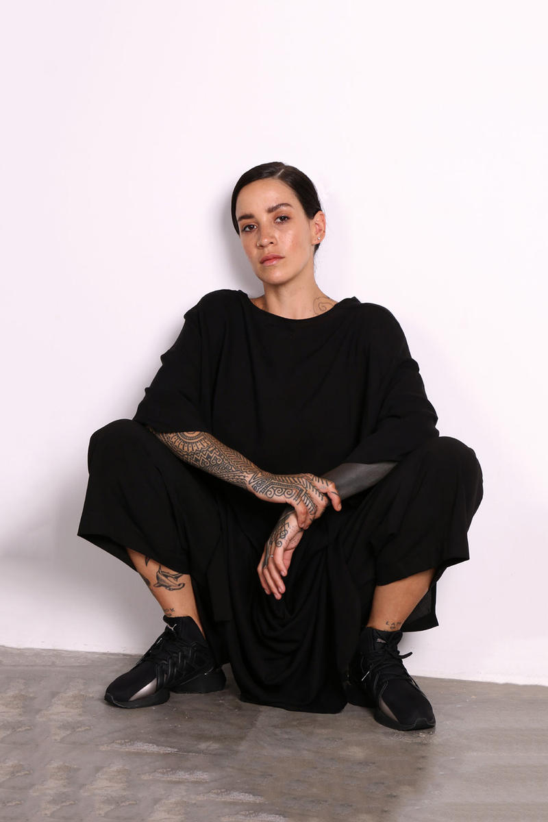 Beau Beau South Africa Lookbook Oversized Relaxed T-Shirt Culottes Black