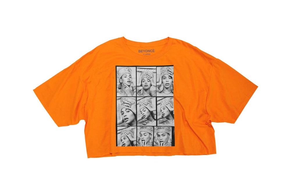 Beyonce Nefertiti Spring 2018 Merch Collection Crop Top Orange