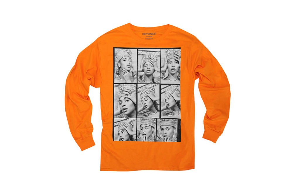 Beyonce Nefertiti Spring 2018 Merch Collection Long-sleeved Shirt Orange