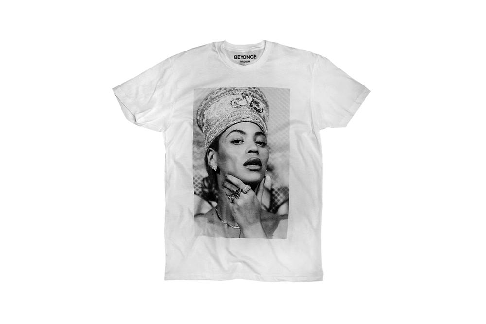 Beyonce Nefertiti Spring 2018 Merch Collection T-Shirt White