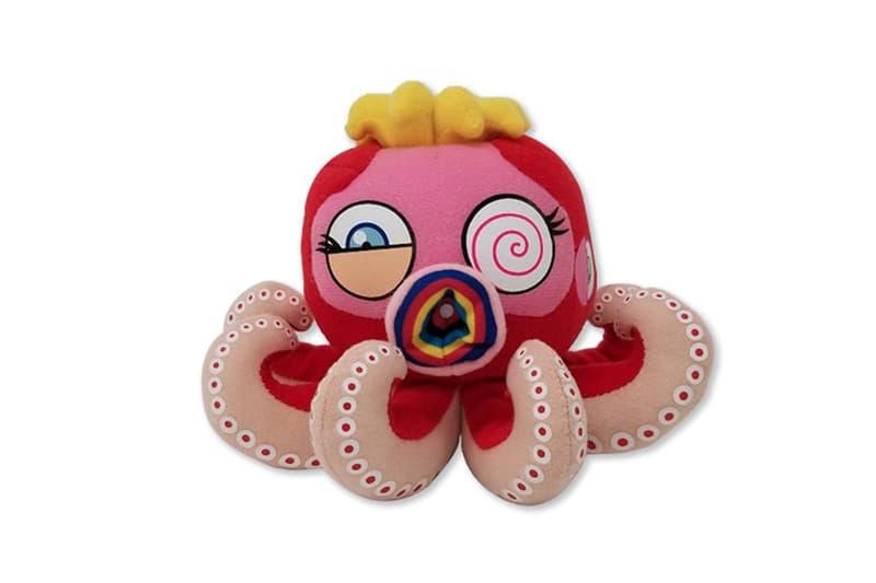 Takashi Murakami Superflat Plush Toys Octopus