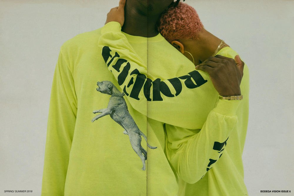 Bodega Spring/Summer 2018 Delivery 1 Lookbook Longsleeve Shirts Yellow