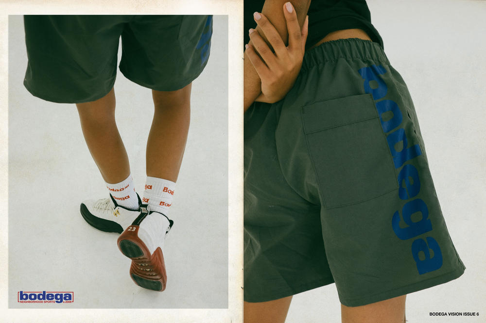 Bodega Spring/Summer 2018 Delivery 1 Lookbook Shorts Green Blue