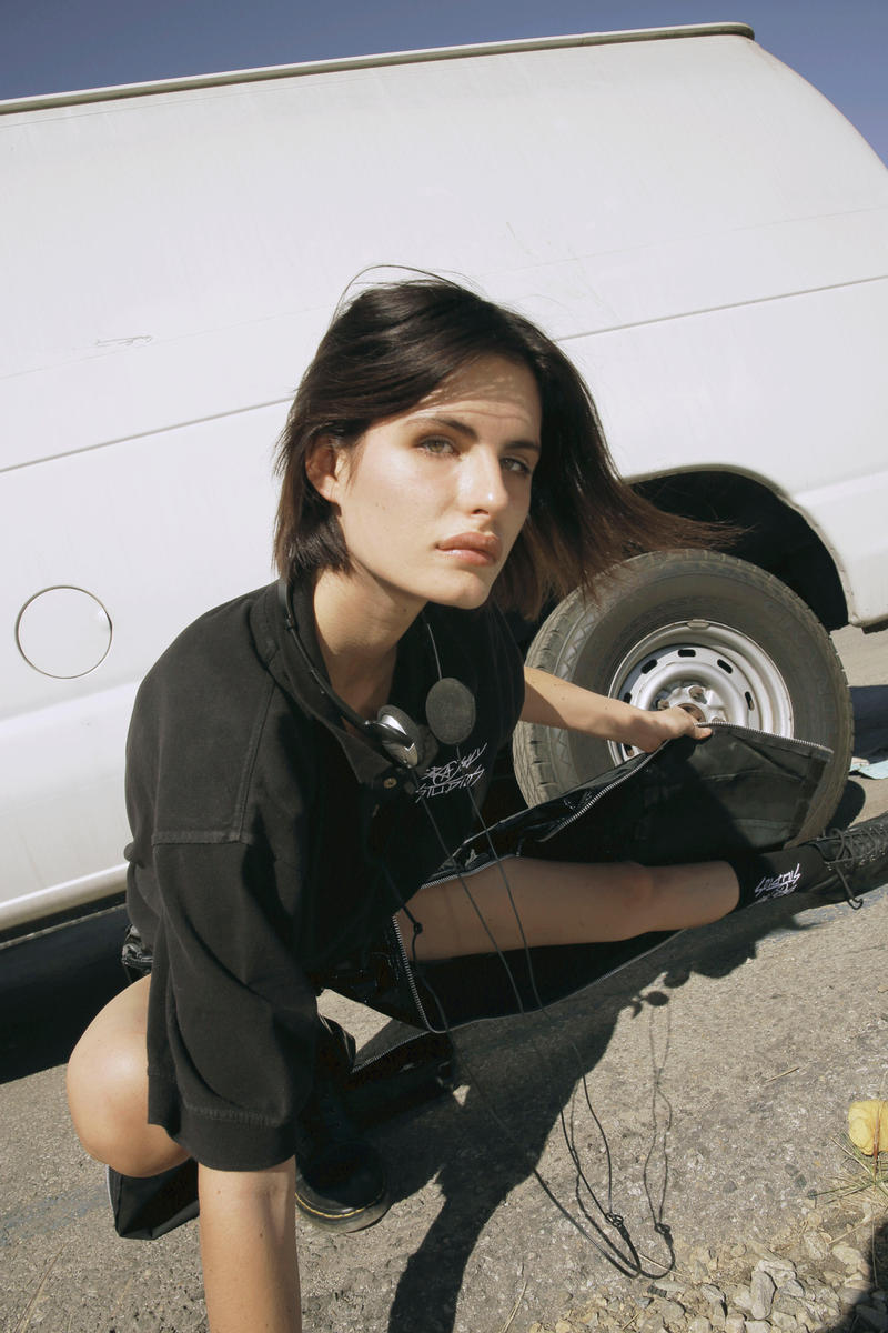 Brashy Studios Editorial Matrix 2000's Shirt Pants Black