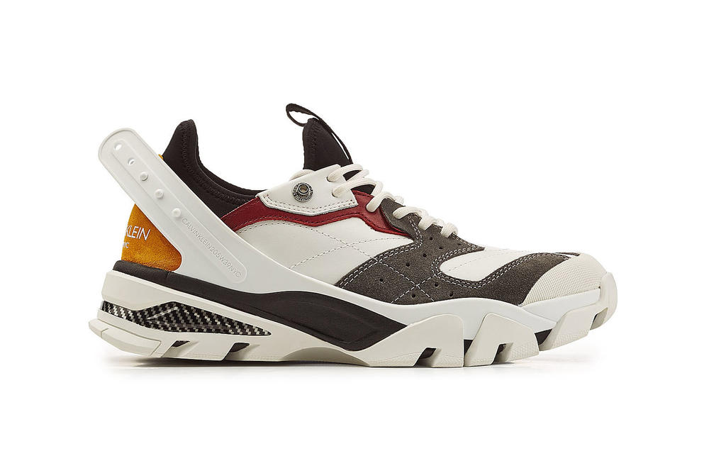 Calvin Klein Chunky Carlos Sneaker Carla Bulky Designer Trainer Dad Shoe Trend Where to Buy Multicolored Monochrome Black Stylebop.com