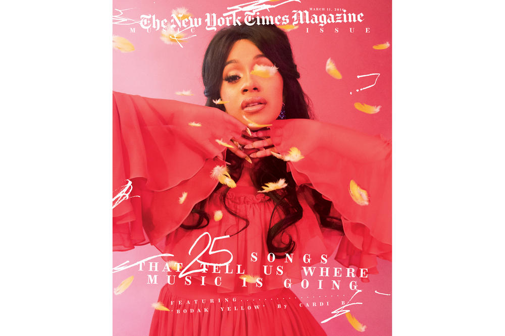 Cardi B The New York Times Magazine March 2018 Music Issue Cover